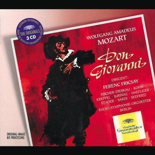 Mozart, DON GIOVANNI - Aufnahme Fricsay