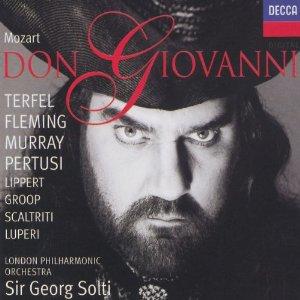 Bryn Terfel singt genial auf dieser Referenzaufnahme des Don Giovanni unter der Leitung von Solti