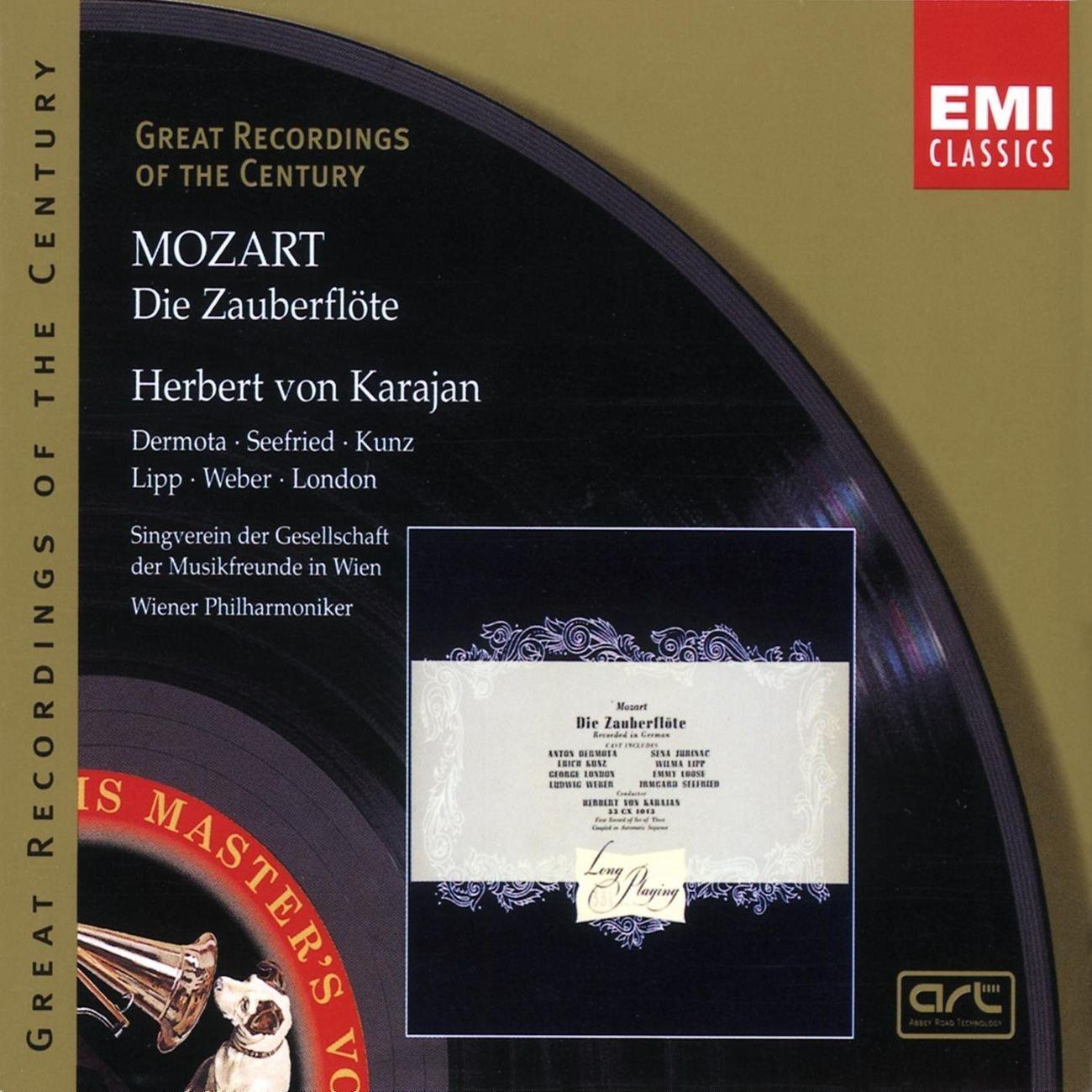 Karajan, Mozarts Zauberflöte, Referenzaufnahme